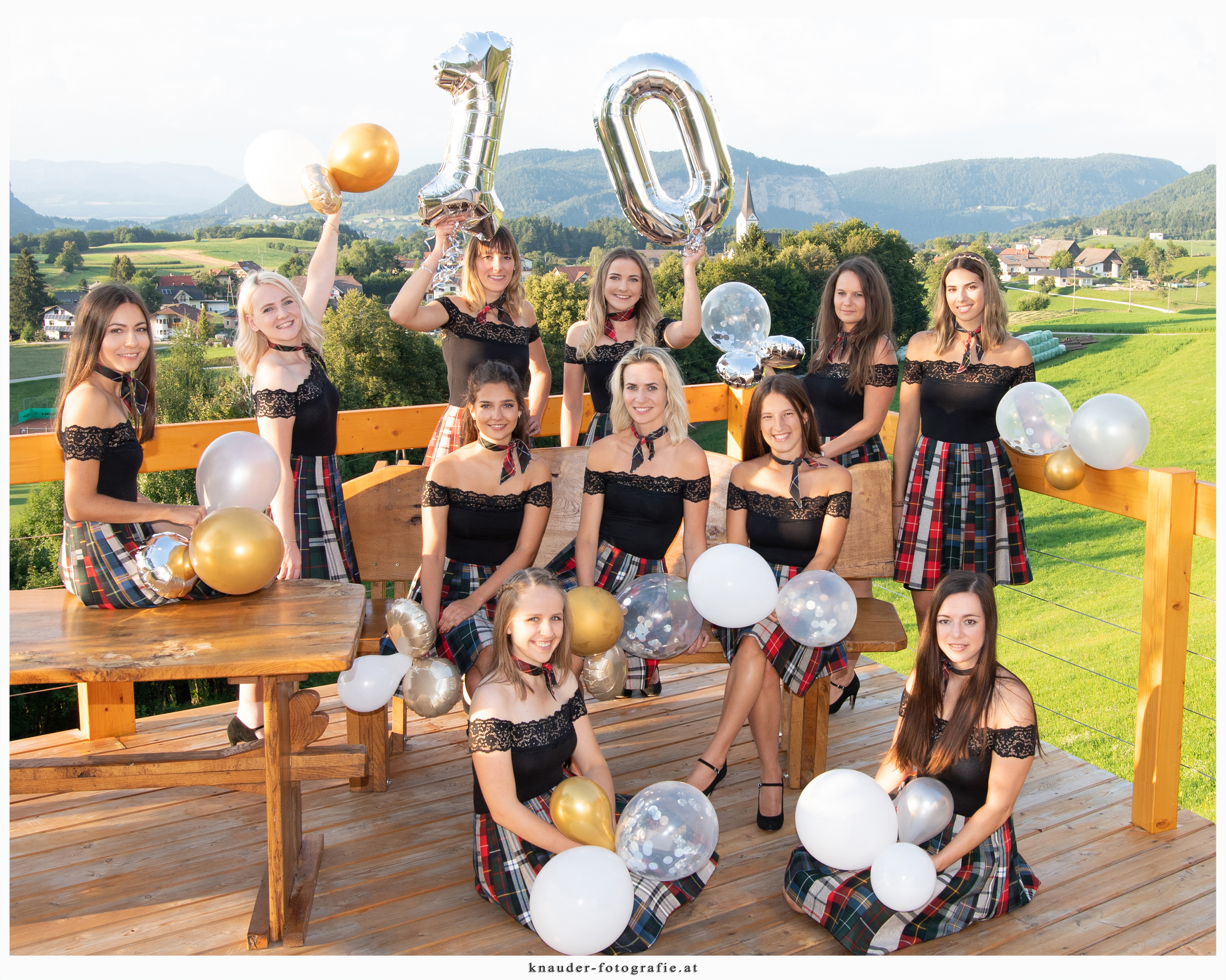 10 Jahre Young Roses - Fotoshooting